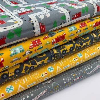 Moda Fabric - On the Go - Fat Quarter Bundle