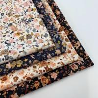 Poppy Europe - Autumn Flowers - Felt Backed Fabric
