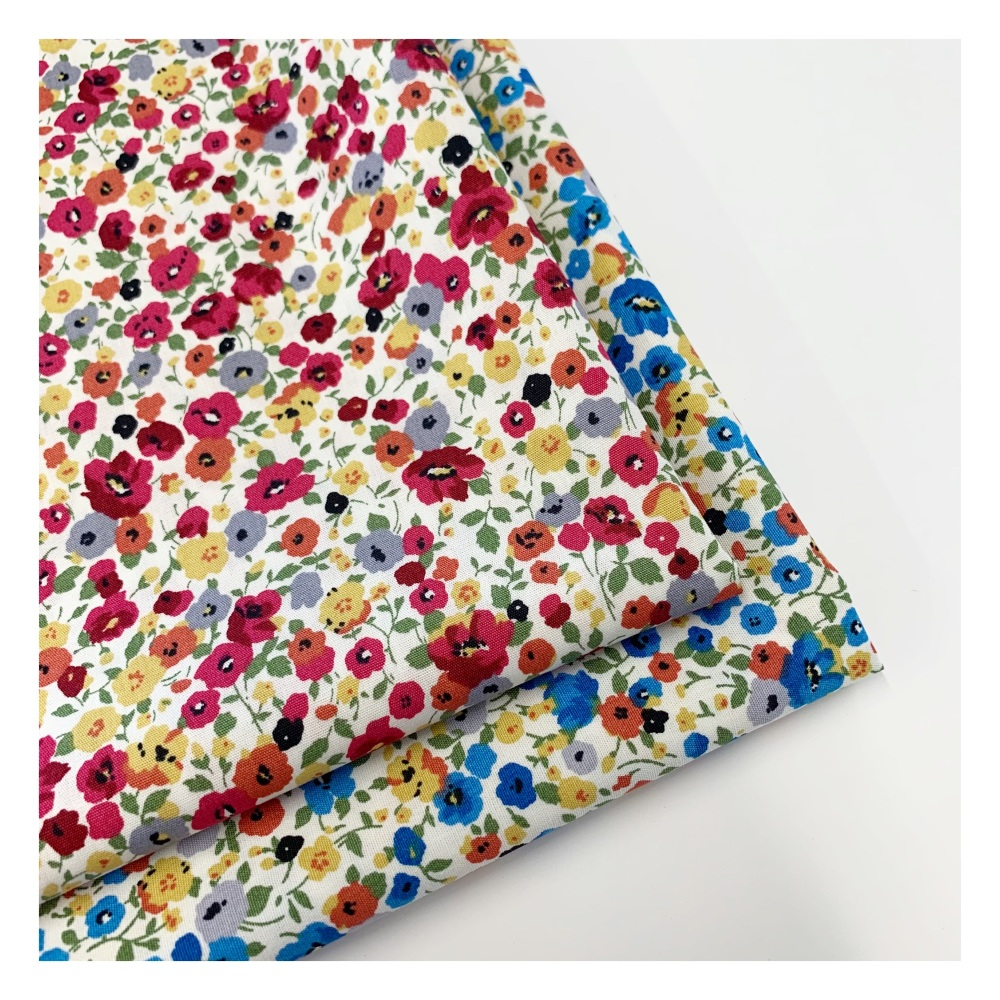 Rose and Hubble - Poppy Fields - Felt Backed Fabric