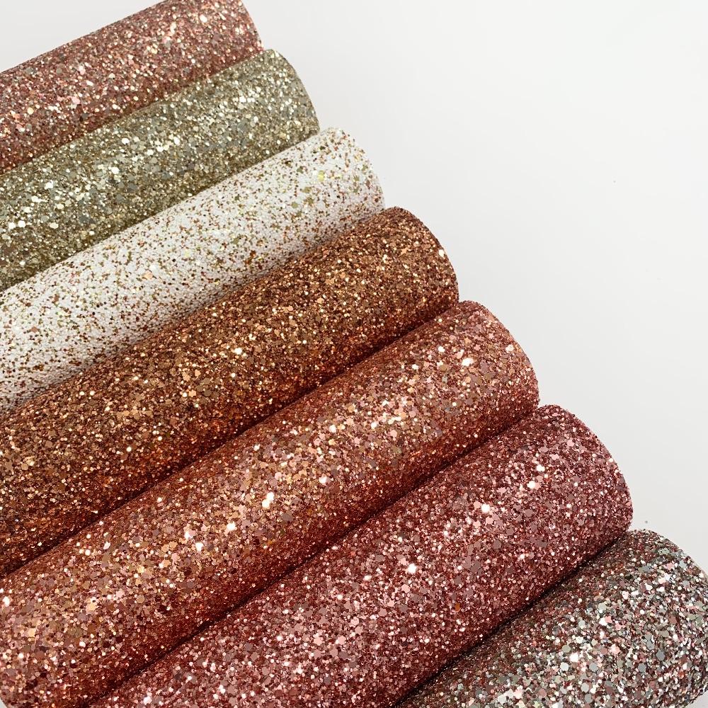 Autumn Glitter Fabric