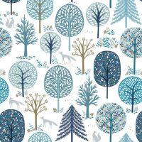 Starlit Hollow - Dashwood Studio - Trees Metallic