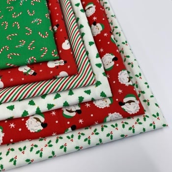 Holiday Essentials by Moda Fabrics  - Felt Backed Fabric  - 6 designs to choose from