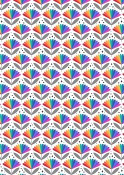 Lewis and Irene -  Over the Rainbow - Bright Rainbow Flower