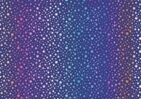 Lewis and Irene -  Over the Rainbow -Rainbow Sparkles on Blue
