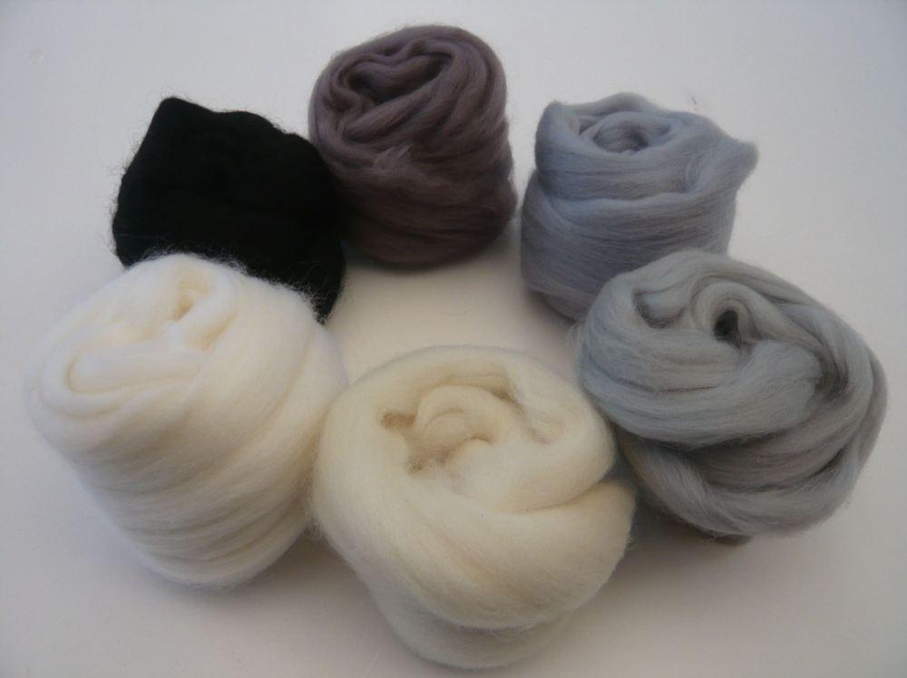 Felting Wool Heidifeathers® Merino Wool Tops /'Beautiful Browns/'