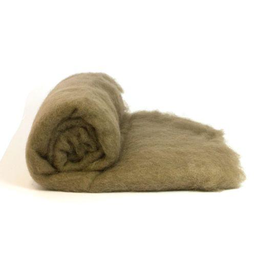 Dyed Wool Batt Gray