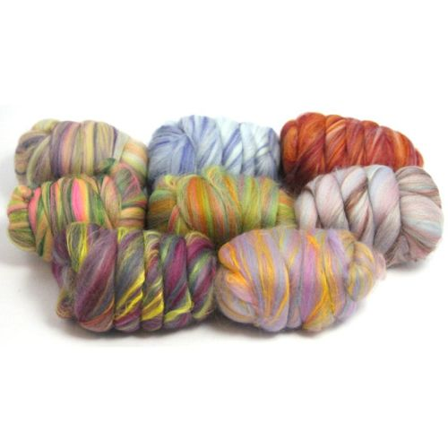 Dyed Bamboo and Merino Mixed Wool - 8 Different colour Varieties