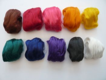 Dyed Bamboo Tops - 10 Colours