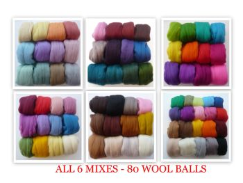 'Abundance Collection' - 6 Merino Mixes