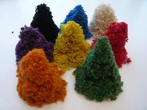 Wool Nepps - Choose the Colour
