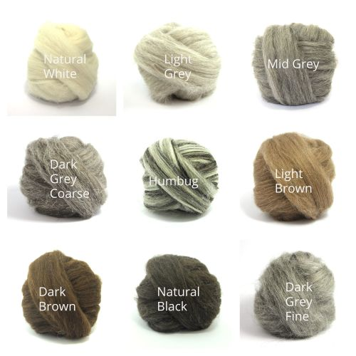 Natural Wool - Choose 3 Balls