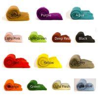 Dyed Wool Mini Batt - Choose 3 Batts