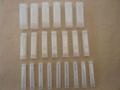 100 x Small Needle Felting Tubes