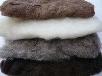 Carded Wool Batts - Bundle of 4 Colours