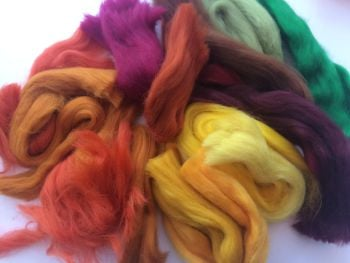Seasonal 'Autumn' Wool Off Cuts / Wool Scraps