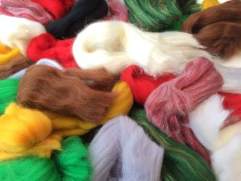 Seasonal 'Winter' Wool Off Cuts / Wool Scraps