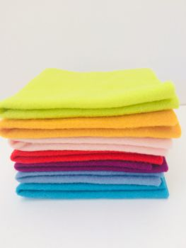 Pre Felt / Pre-felt Carnival Colours - 100% merino wool