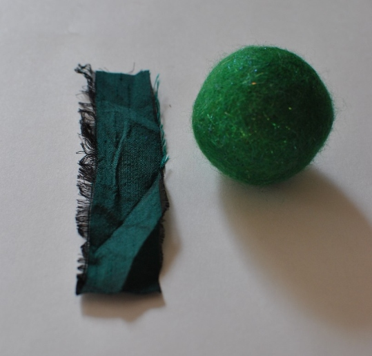 felted bauble