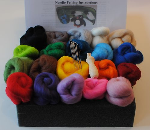 starter needle feltinf kit