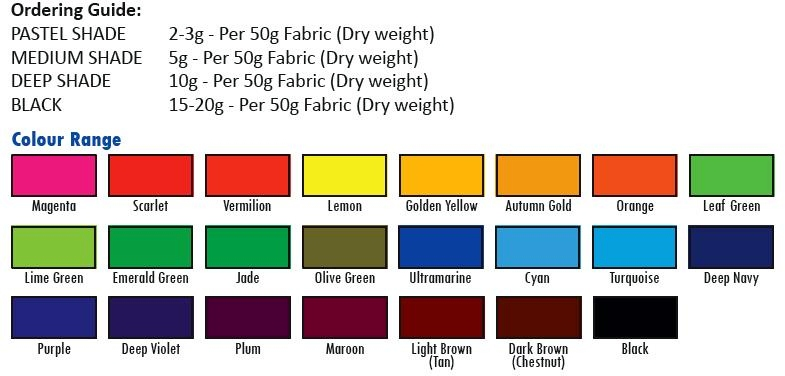 Silk Choose From 23 Colours For Wool All In One Acid Dyes Nylon Feathers