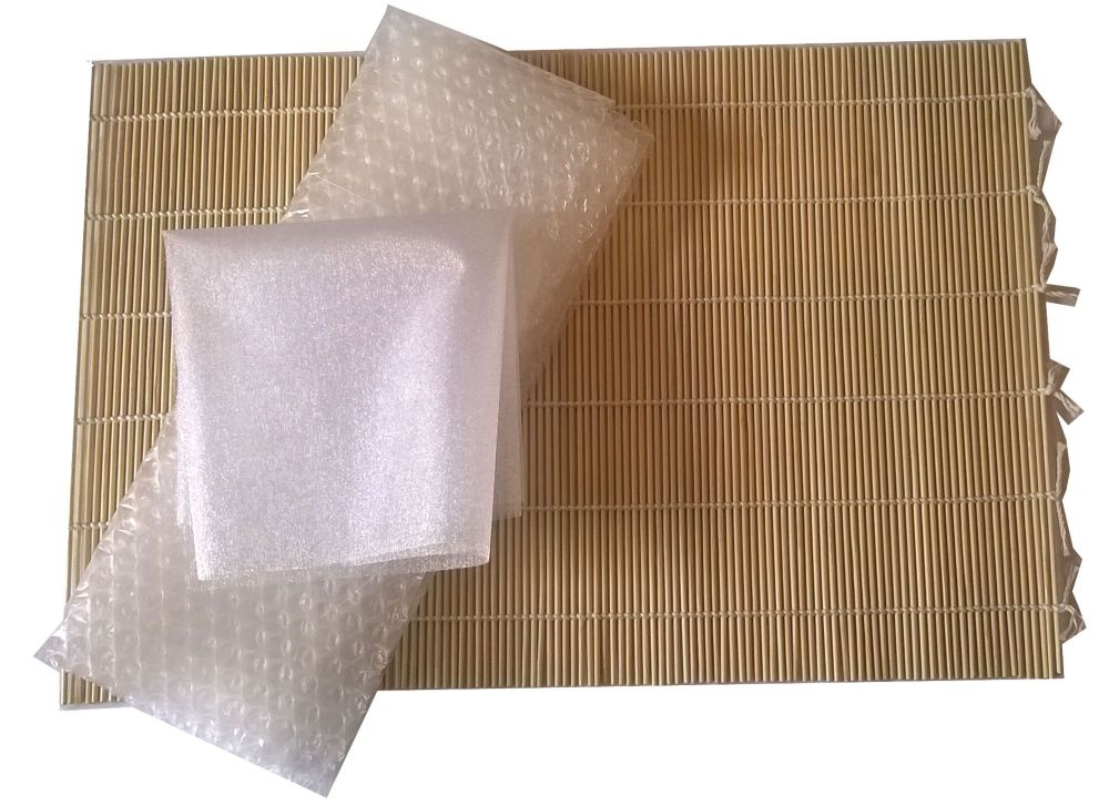 Bamboo Felting Mat with Bubble Wrap and Netting
