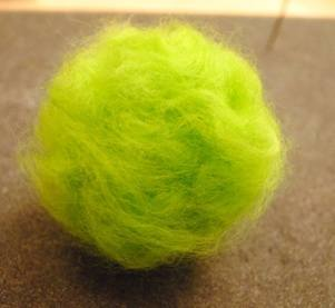 needle felted apple 6