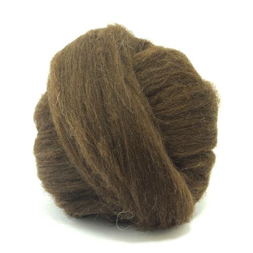 Natural Wool - Dark Brown