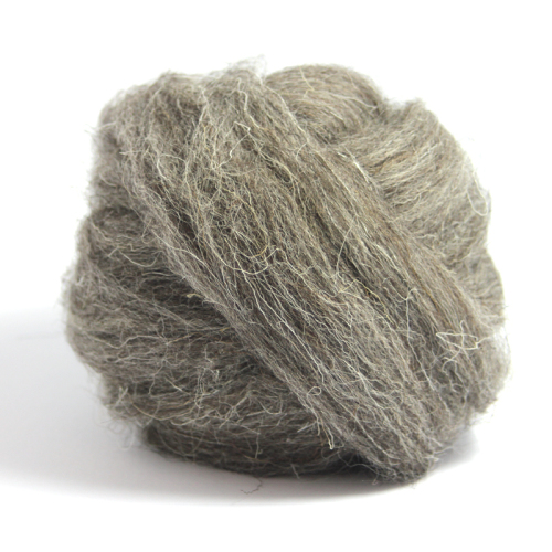 Natural Wool - Dark Grey