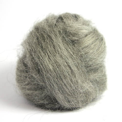 Natural Wool - Dark Grey (Fine)
