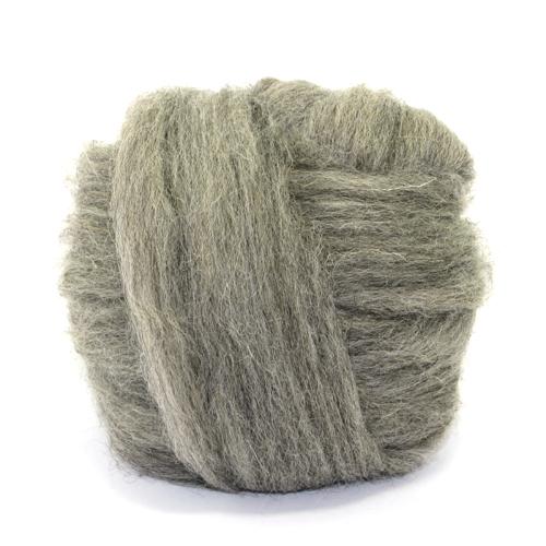 Natural Wool - Mid Grey