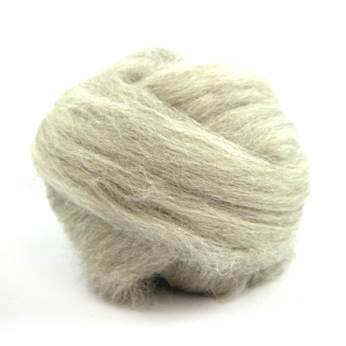 Natural Wool - Light grey