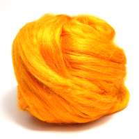 Dyed Bamboo Tops Orange