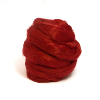 Dyed Bamboo Tops Red