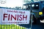 L2B Land Rover Run Finish Line