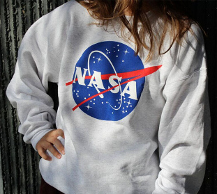 NASA Space Astronaut Unisex Pullover Sweater Sweatshirt Jumper Shirt Top