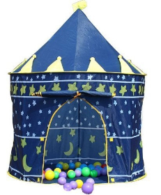 A Stary Night Sky Play And Story Tent Play House