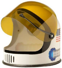 NASA Youth Size Space Man Astronaut Helmet
