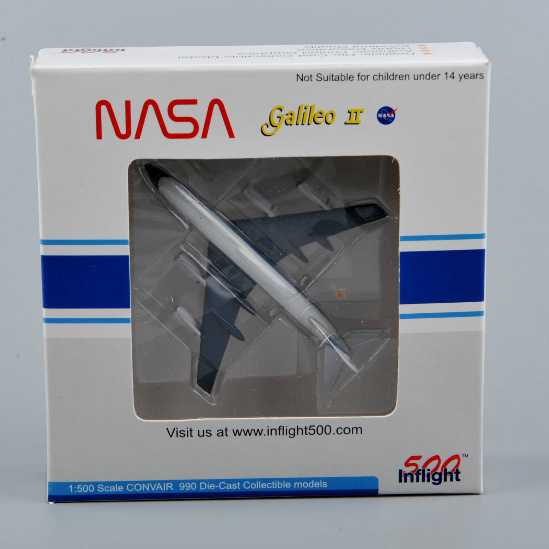 NASA AIRLINES CONVAIR 990 Inflight 500 Model 1/500 Diecast Airplane Aircraf
