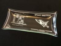 NASA Kenedy Space Center Rectangle Glass Tray