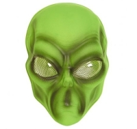 PVC Alien Mask for UFO Space Sci Fi Fancy Dress