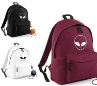 Area 51 UFO Bag ALIEN FACE Backpack