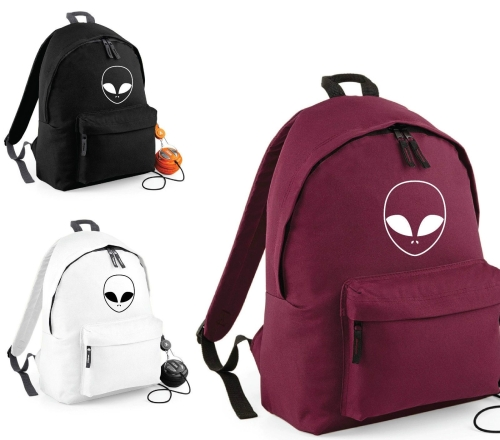 Area 51 UFO Bag ALIEN FACE Backpack