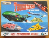 THUNDERBIRDS Rescue Pack - Gerry Anderson - Lady Penelope's FAB1 - by Matchbox