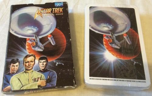 Genuine Rare Star trek Playing Cards Boxed Sealed