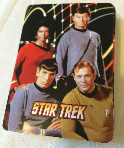 Genuine Rare Star trek Playing Cards Loose