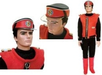 Talking Sound Captain Scarlet Action Man Style Figure 9 Inch Tall Rare