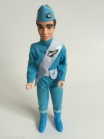 Talking Sound Thunderbirds Scott Tracy Action Man Style Figure 9 Inch Tall Rare
