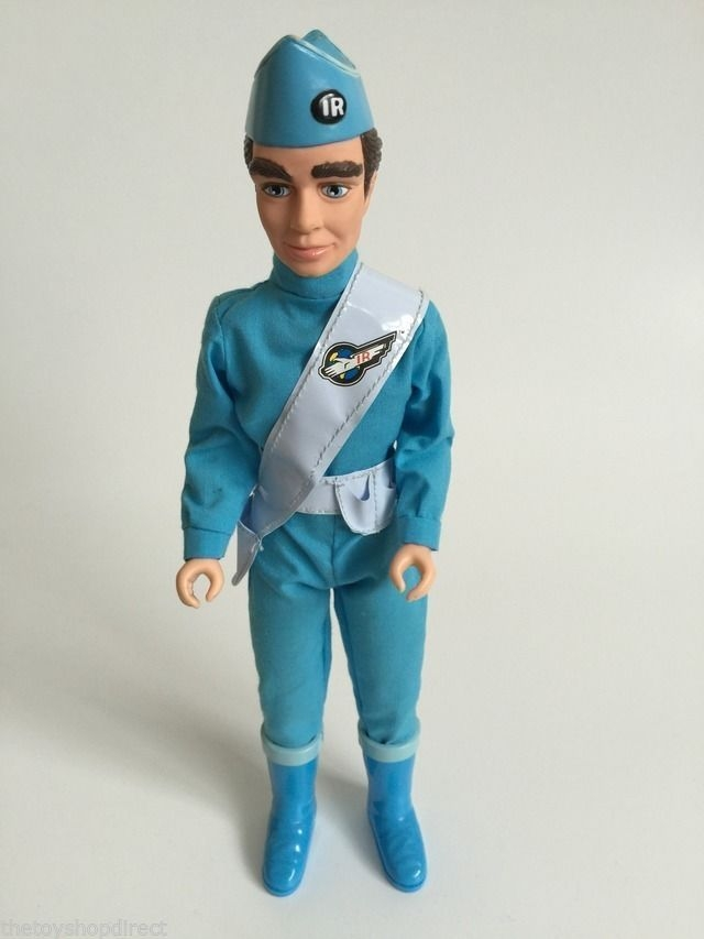 Talking Sound Thunderbirds Scott Tracy Action Man Style Figure 9 Inch Tall