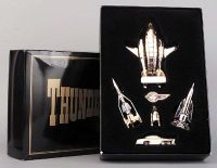 Thunderbirds Matchbox GOLD Plated Set Die-Cast LTD Edition 1993 Gerry Anderson Very Rare