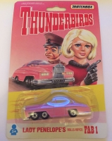 Matchbox Thunderbirds Lady Penelopes Rolls Royce FAB1